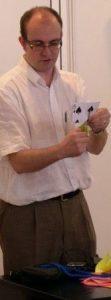 Fernando Blasco, Doctor en Ciències Matemàtiques i autor de 'Matemagia' i 'El Periodista Matemàtic'