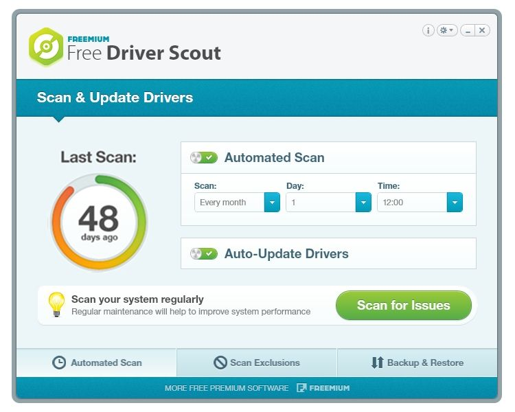 Img free driver scout