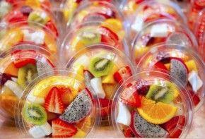 Img fruta cortada envasada