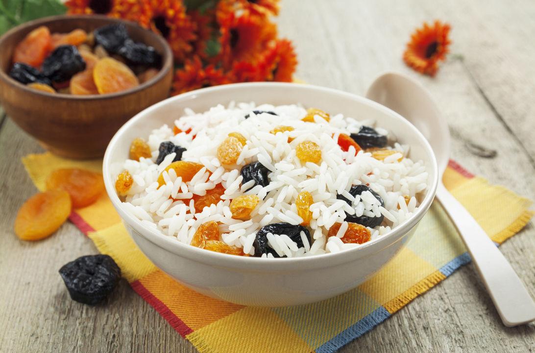 Img fruta seca arroz hd