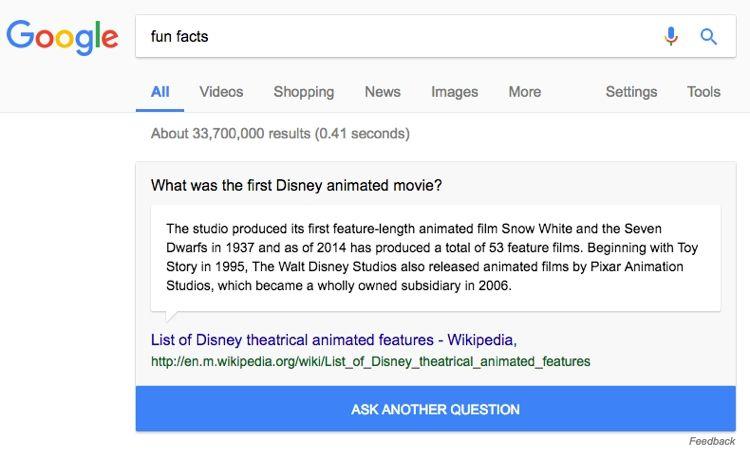 Img google fun facts