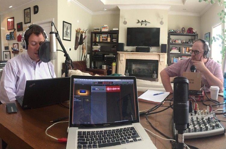 Img grabar podcast art