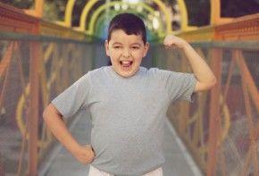 Img hijo fuerte tiene sobrepeso