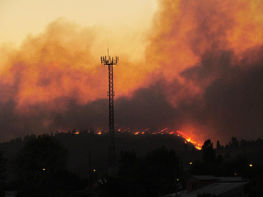 Img incendio forestal hd