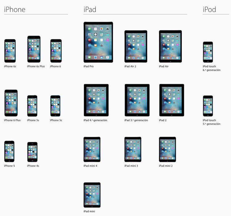 Img ios9 compatibilidad dispositivos