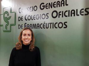 Irene Suárez, farmacéutica del Consejo General de Colegios Oficiales de Farmacéuticos