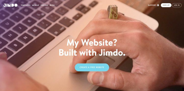 Img jimdo crear web