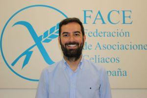 Jon Zabala, presidente da Federación de Asociacións de Celíacos de España