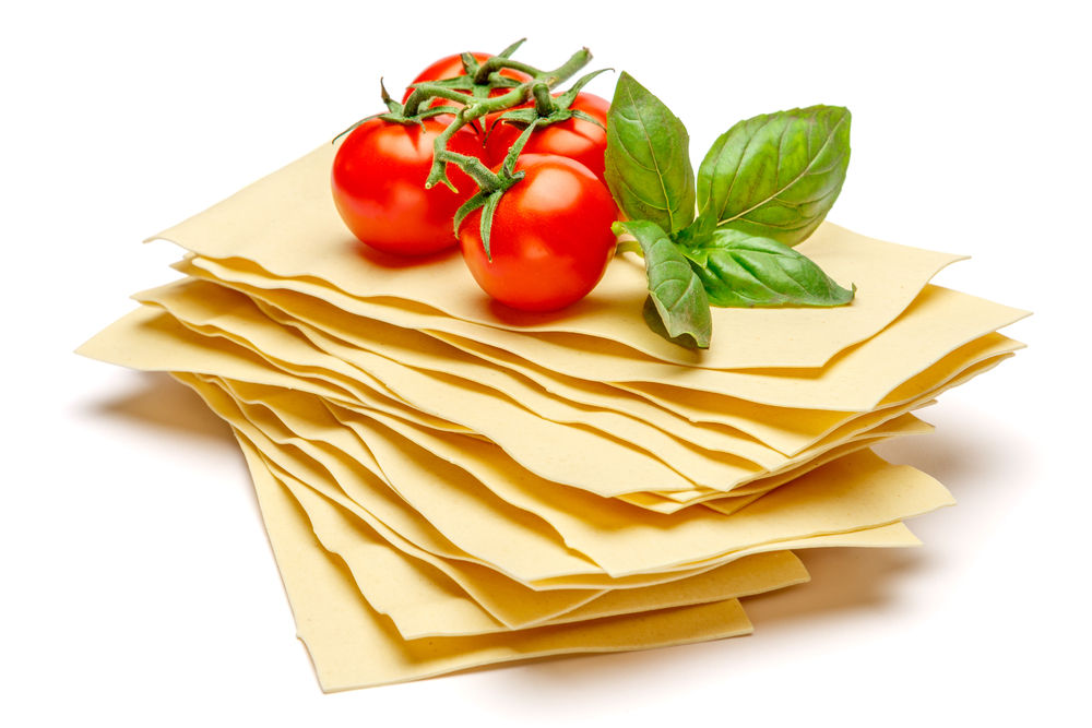 lasagna seca masa tomate