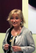 Lourdes Alonso Aramburu, presidenta de la Asociación de Empresas de Restauración en Colectividades de Euskadi