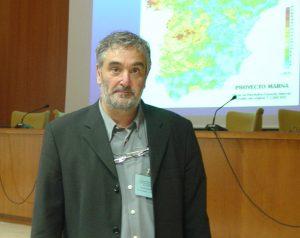Luis Quindós, expert en contaminació per radón