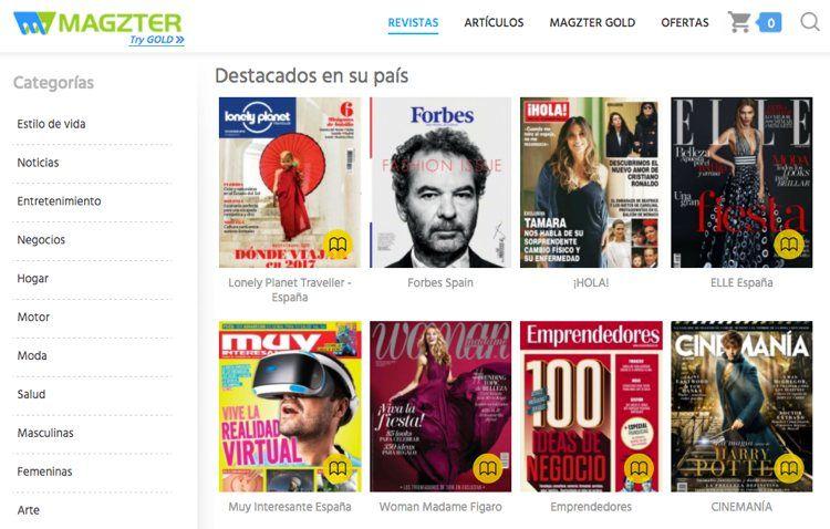 Img magzter revistas app