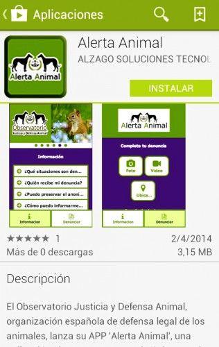 Img maltratos animales movil apps art