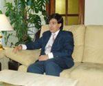 Mario Navarro, secretario general de Corte de Arbitraje Económico de Derecho y Equidad