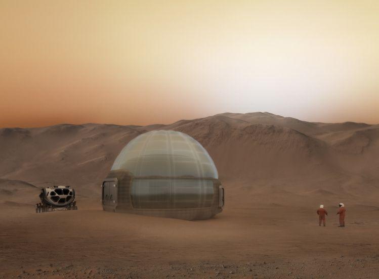 Img mars ice dome marte