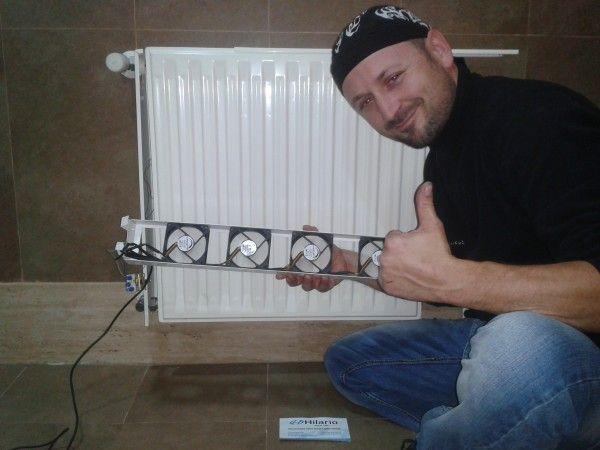Mejora radiador calefacción