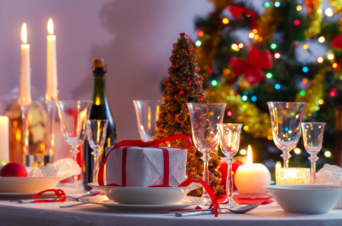 Img mesa navidad bonita hd