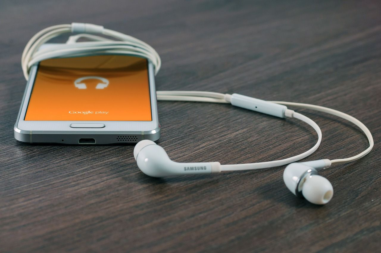 Img movil musica auriculares hd
