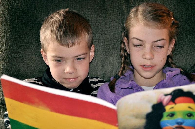 Img ninos leyendo