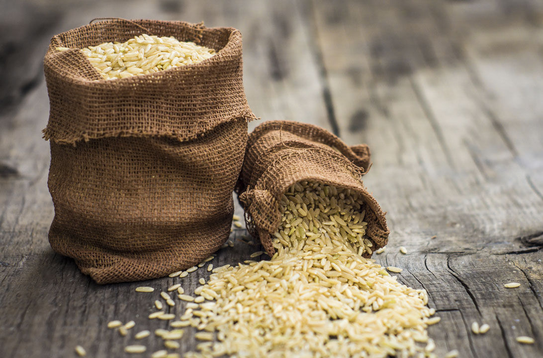 Img paella arroz integral hd