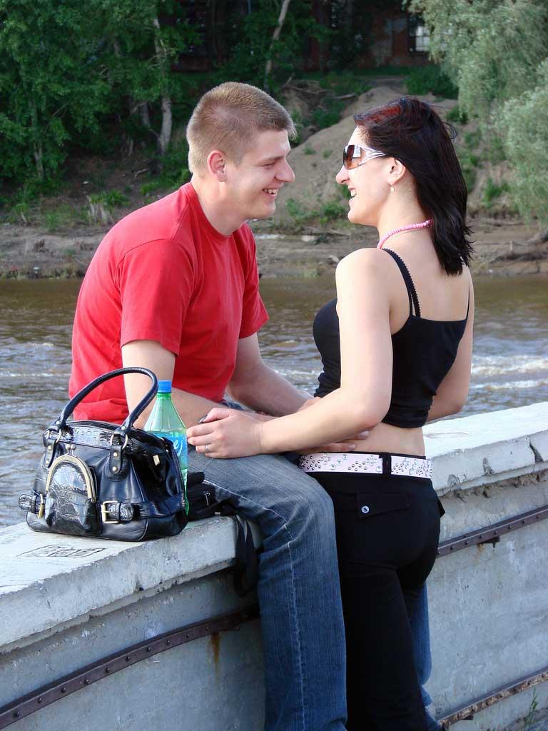 Img pareja sonriente