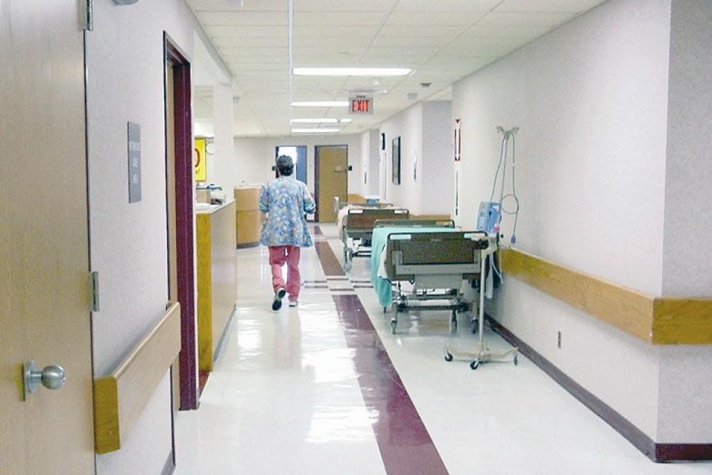 Img pasillo hospital hd