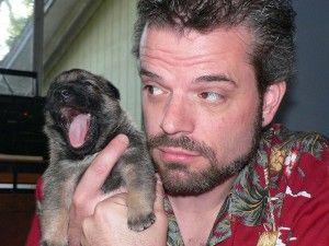 Img perros cachorros hombres dueno bostezos contagiosos gestos animales mascotas personas duenos ciencias curiosidades divertidas art