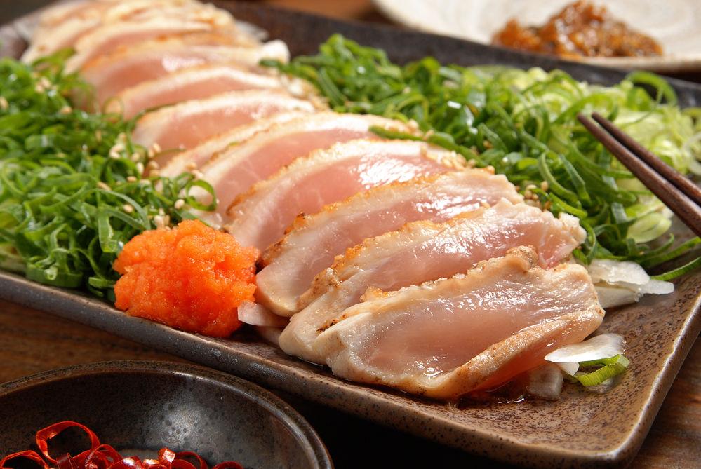 Img pollo crudo sashimi hd