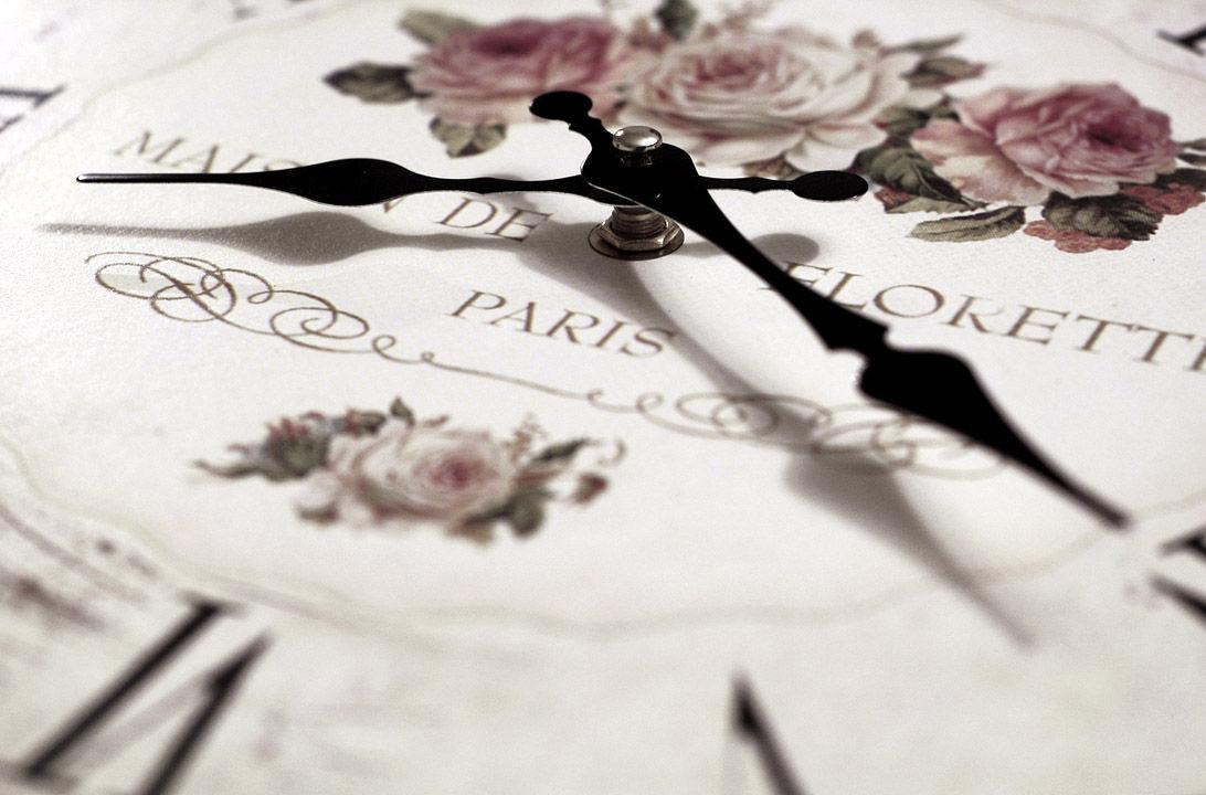 Img reloj rosas hd