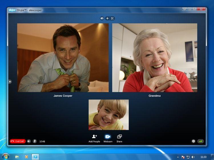 Img skype videollamada