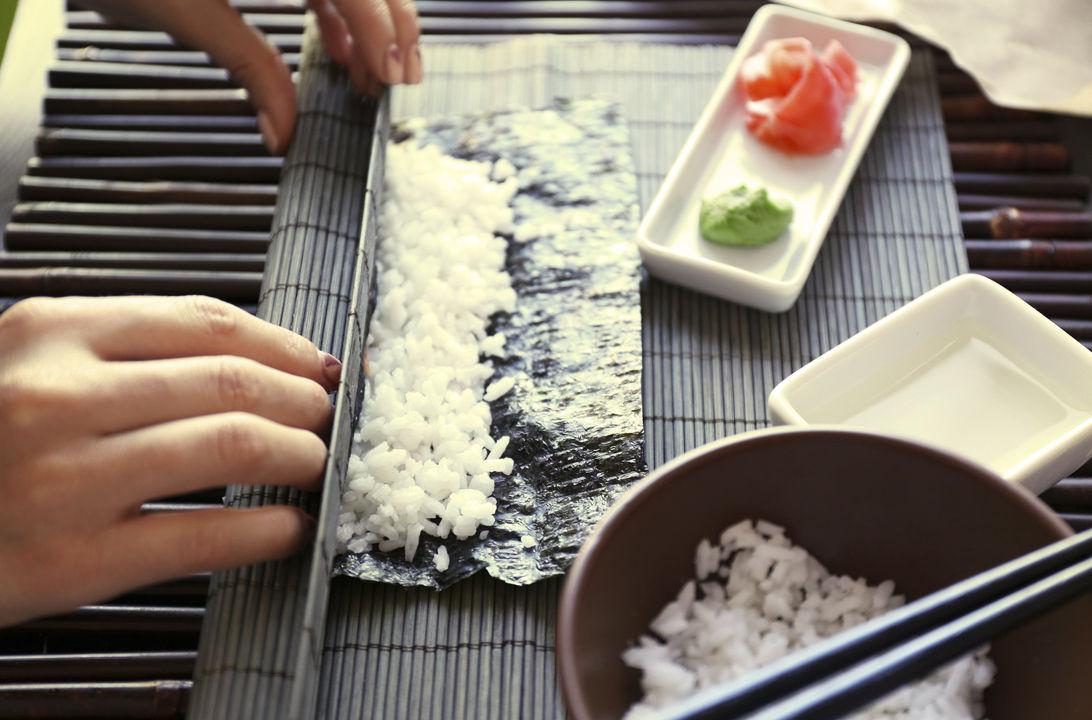 sushi casero riesgos