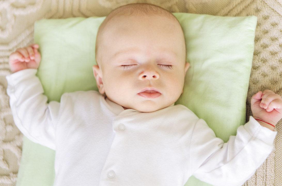 Img usar almohada bebe hd