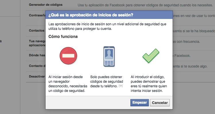 Img verificacion dos pasos facebook