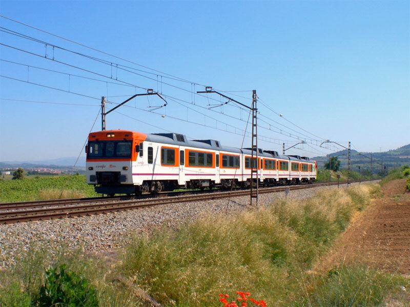 Img viajar tren
