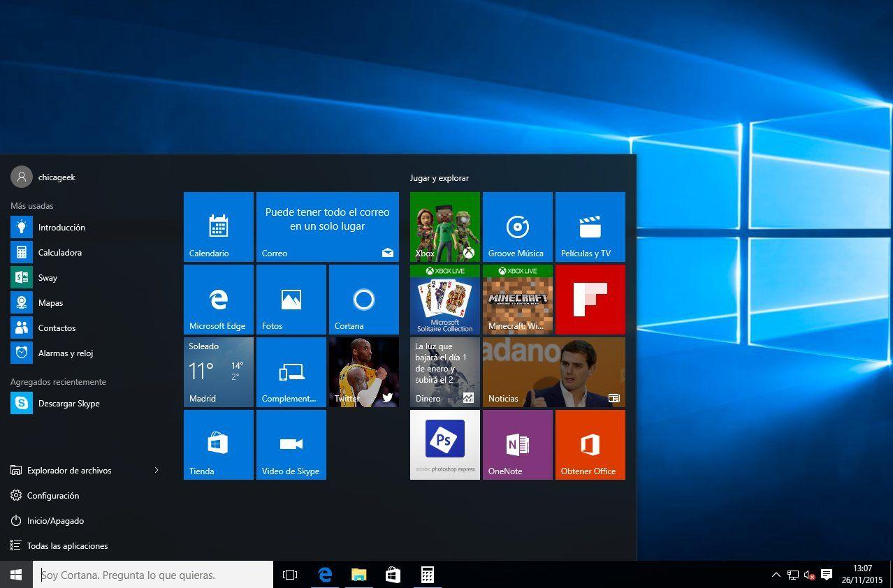 Img windows 10 caracteristicas