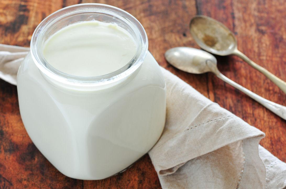Img yogur natural casero hd