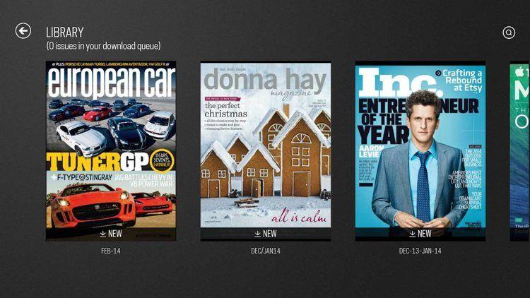 Img zinio revistas app