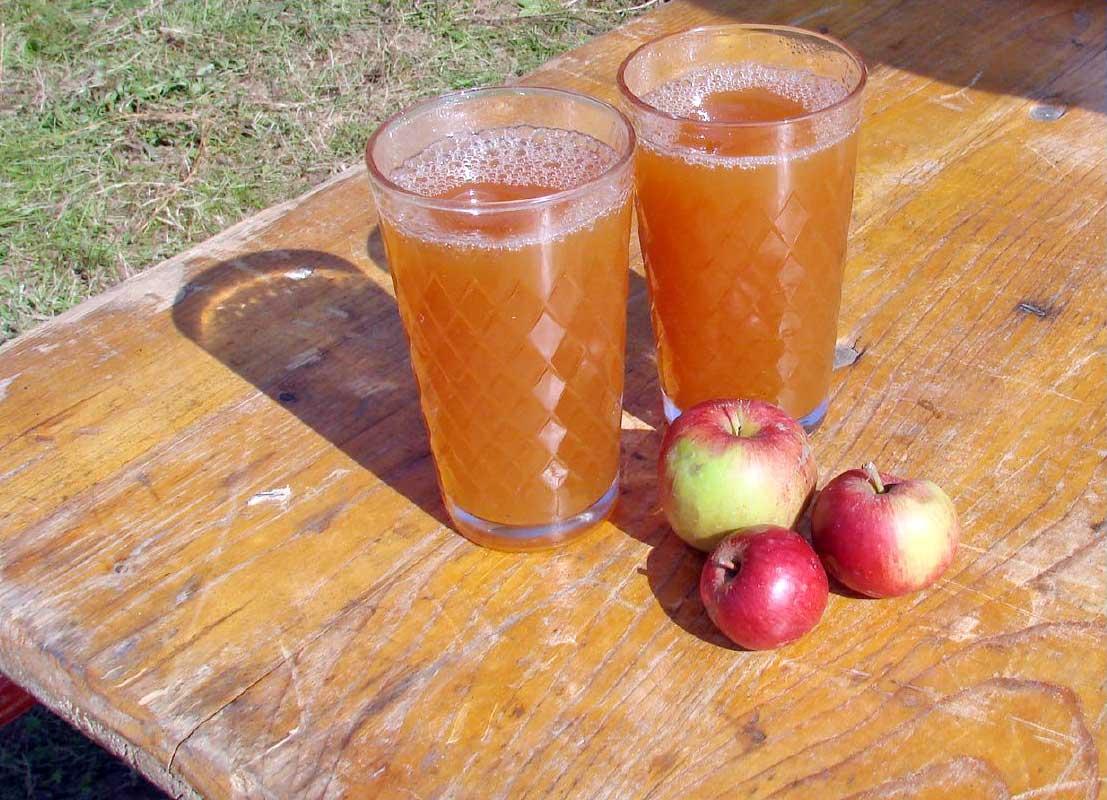Img zumo manzana
