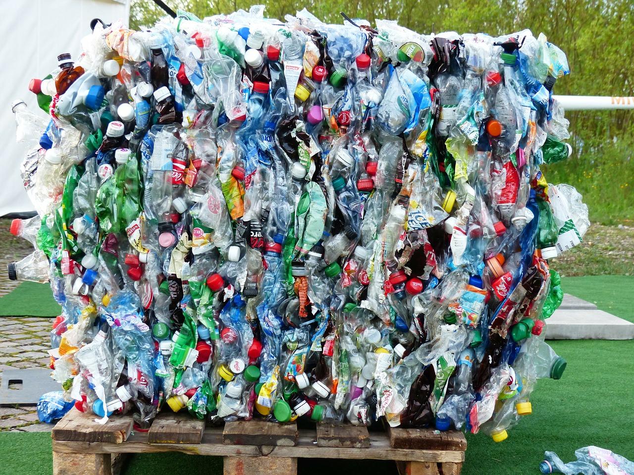Residuos plasticos basura