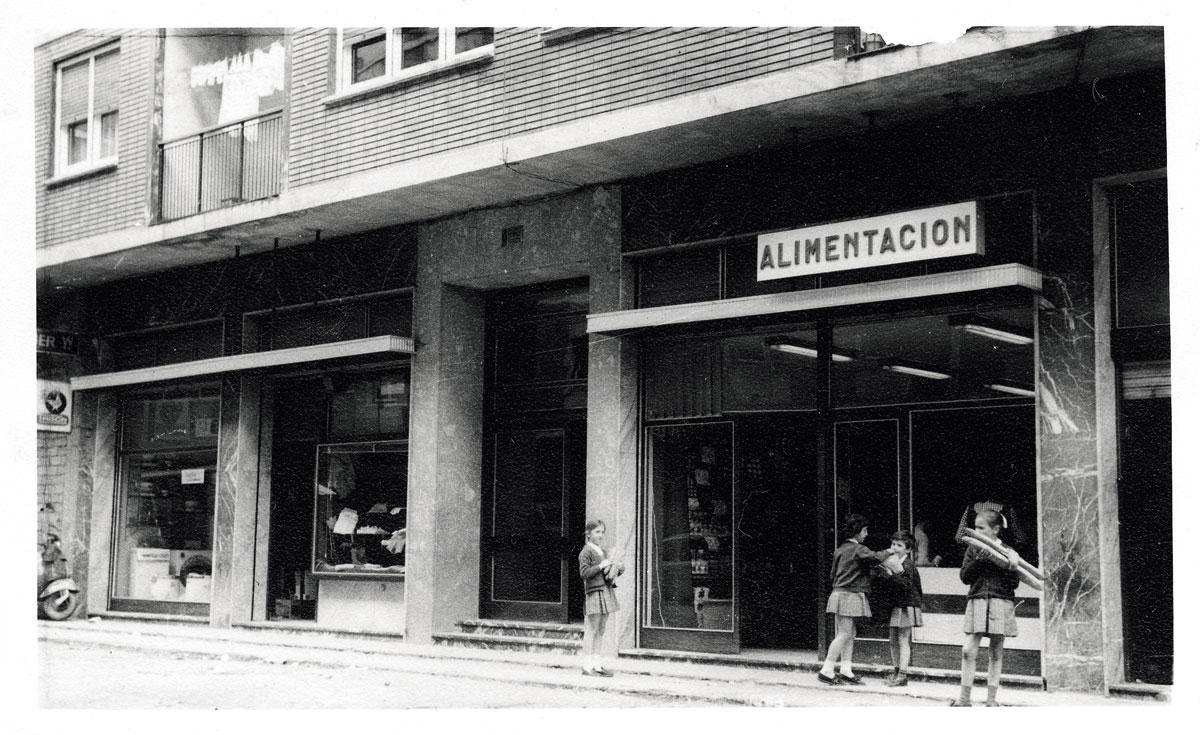 1969 primeras tiendas
