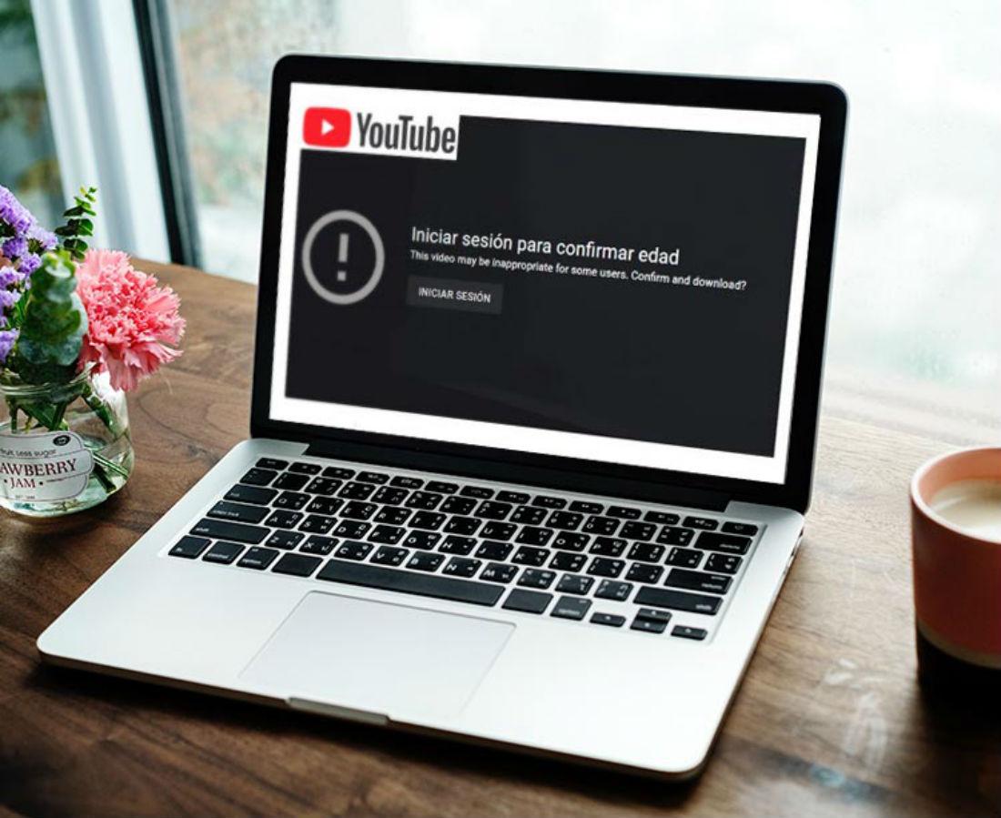Portátil YouTube Inicio sesión