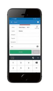 Registro contable movil