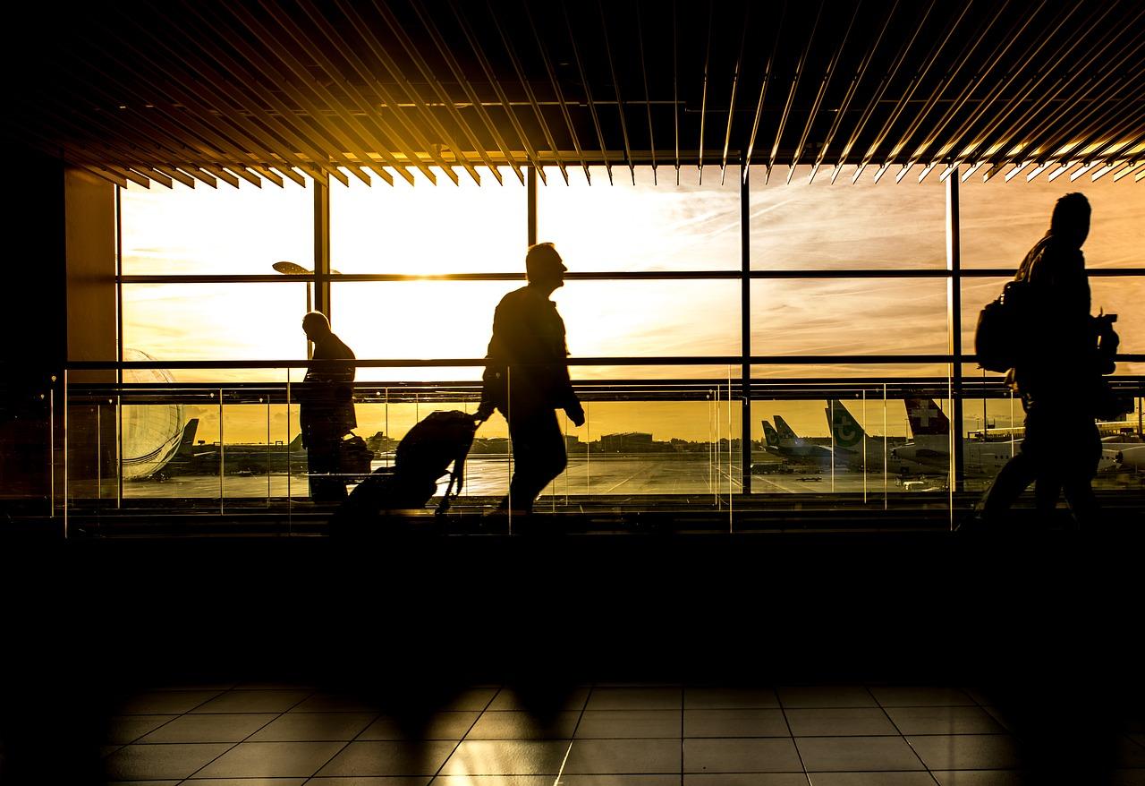 Aeropuerto pasajeros