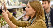 etiquetas supermercado mujer