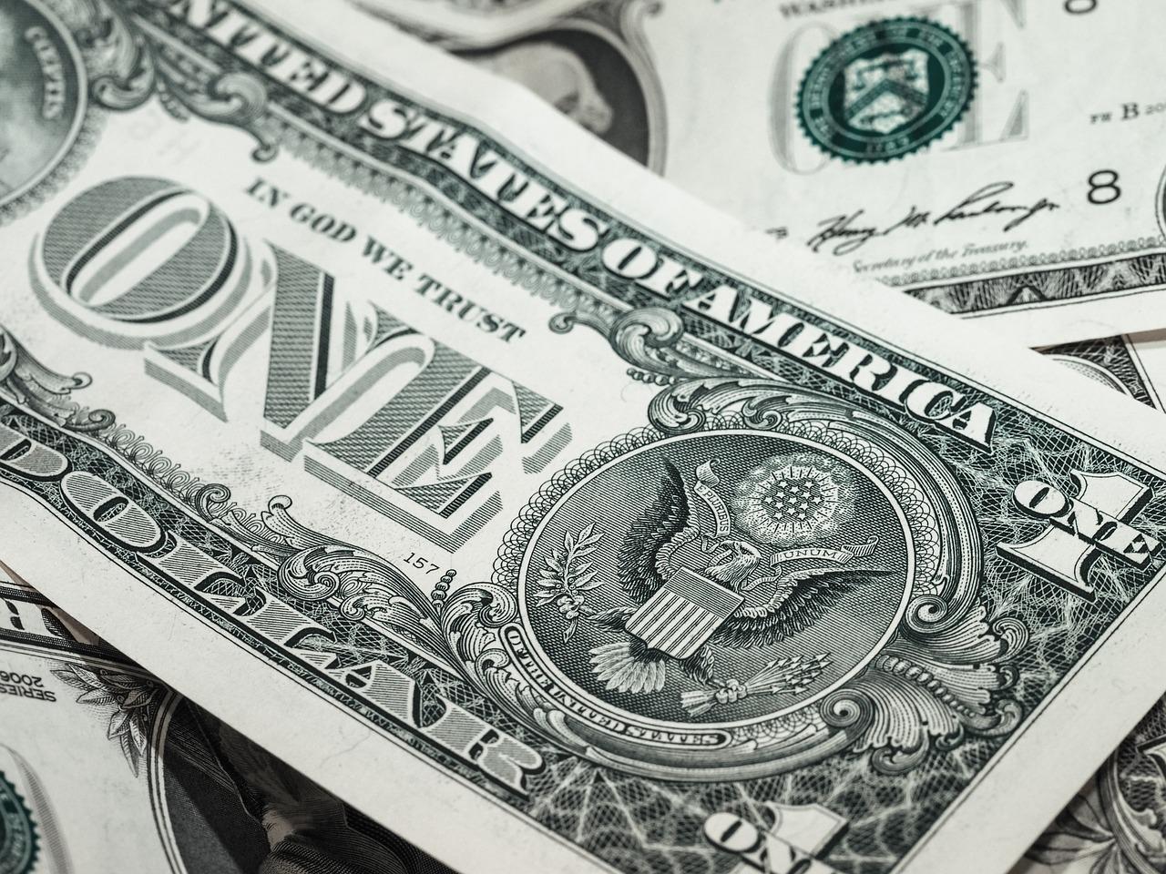 Dolares billetes dinero