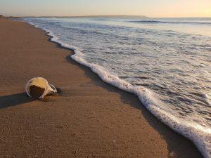 Plastico mar basura contaminacion playa