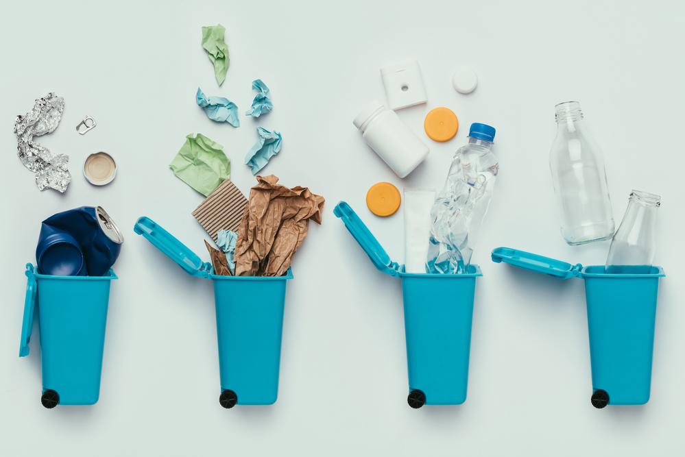 Reciclar residuos urbanos basura