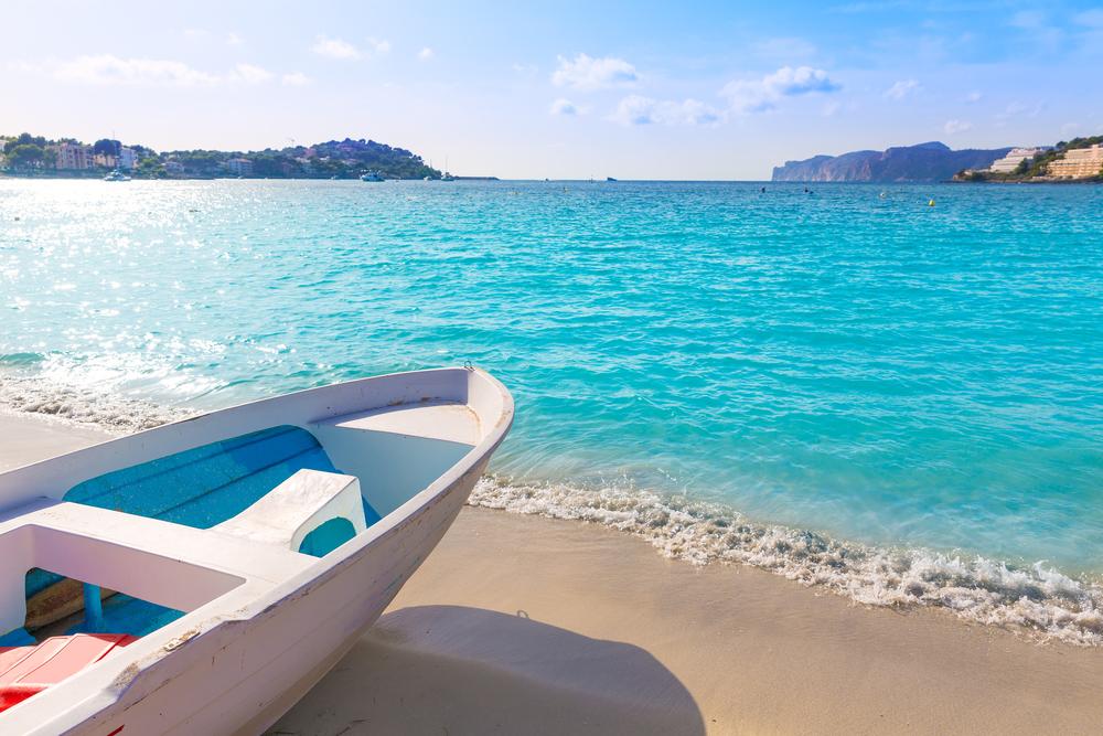 santa ponsa playa barco