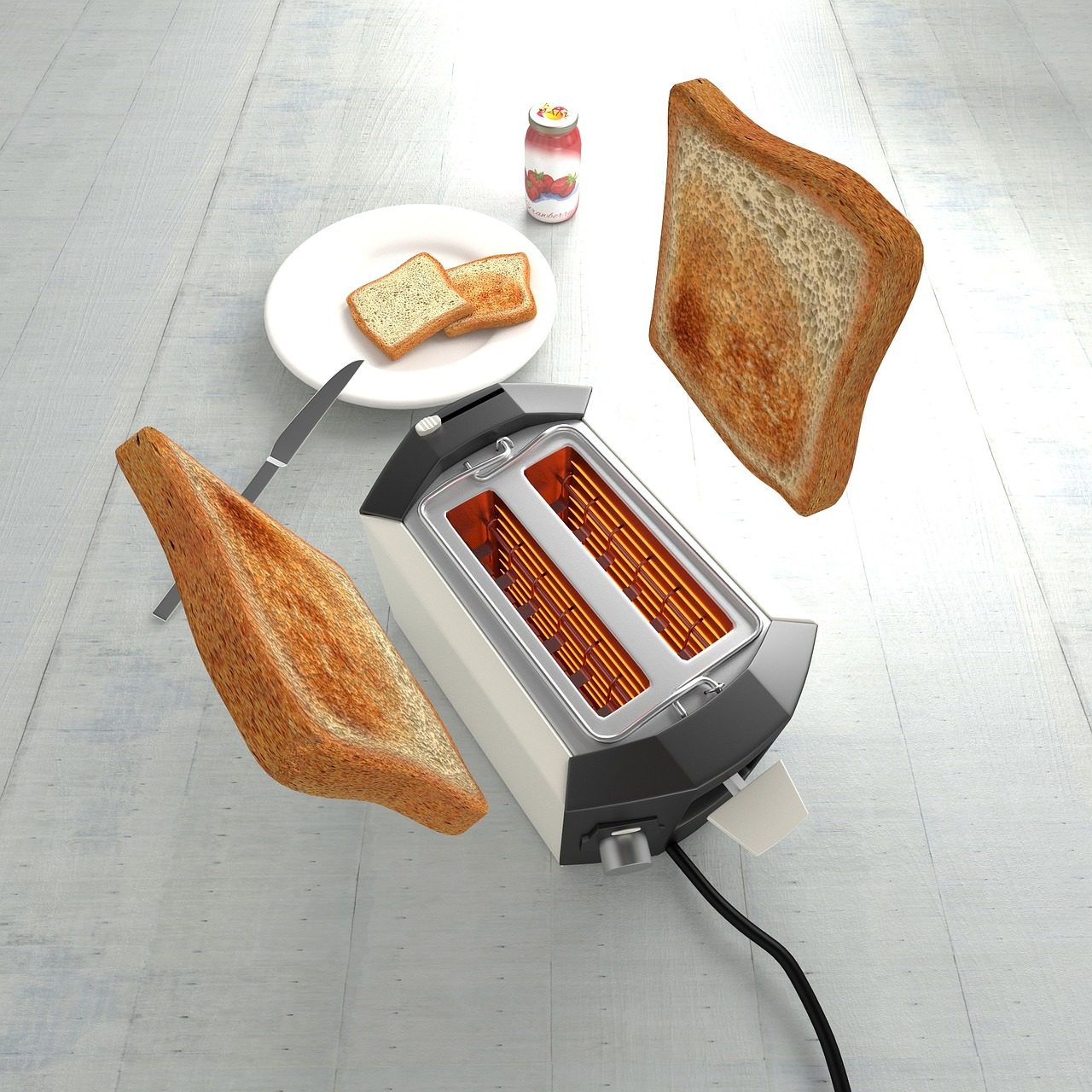 Tostadora tostadas