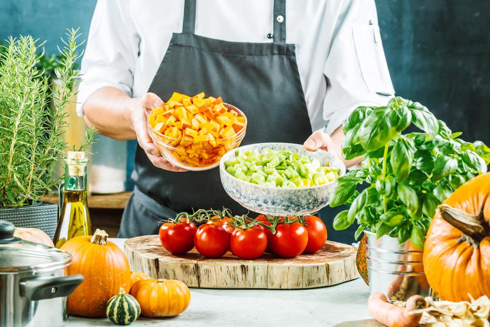Verduras hortalizas cocinar